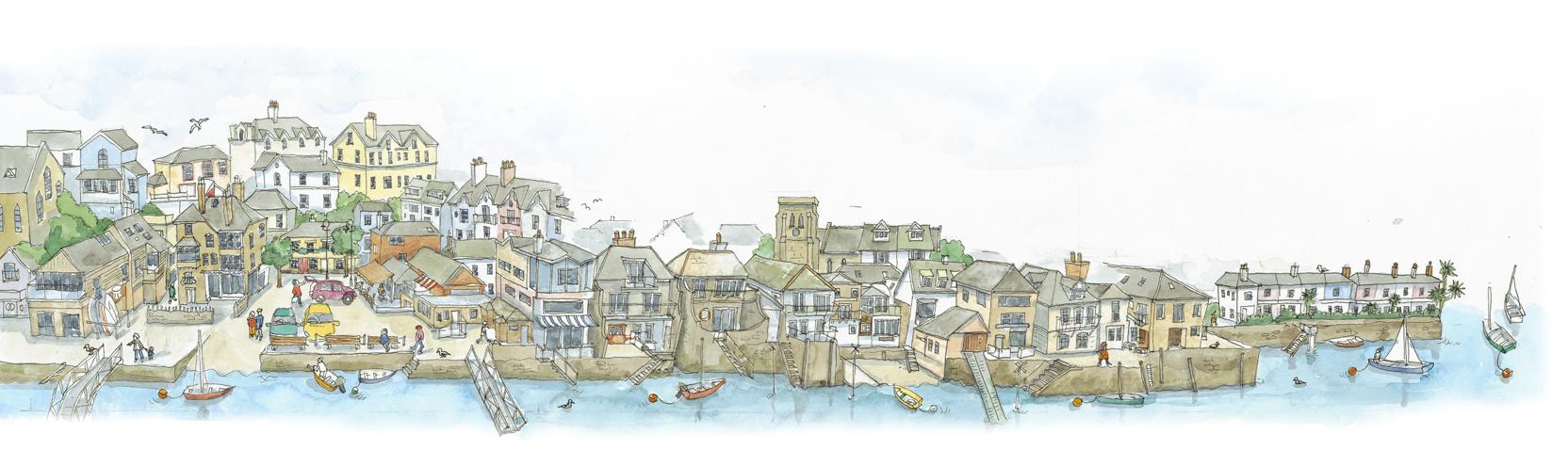 Salcombe-harbour